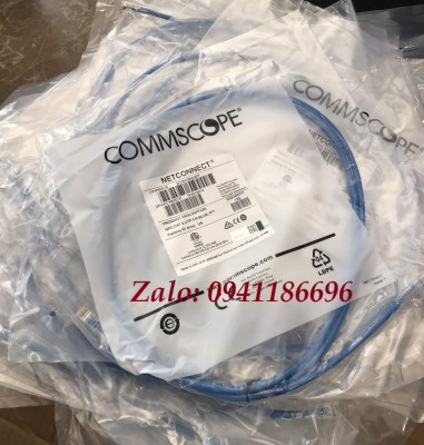 Dây nhảy patch cord 1.5m Commscope Cat5 5FT Blue (CO155D2-0ZF005)